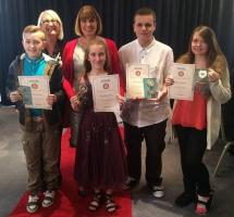 Some previous recipients of the Nottingham Children of Courage awards