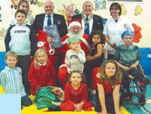 Nevill Hall Childrens Christmas Party in December 2003