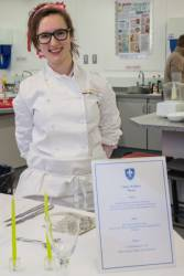 Young Chef of the Year Winner Chloe Wallser