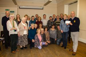 Rotary funds Gaelic Choir to the tune of £500