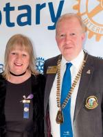 Visit of District Governor Gary Louttit