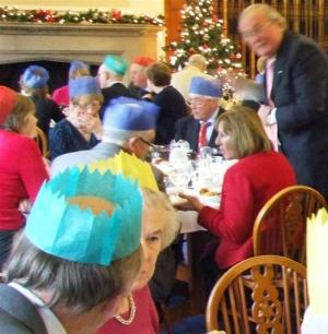 14 December 2011 - members and their spouses enjoy the club's Christmas lunch