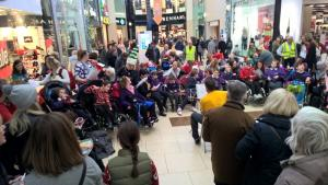Christmas Charity Collection in Eldon Square
