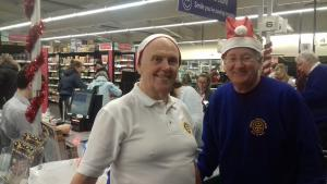 Christmas Eve 2017 Charity Bag Pack raises £1223