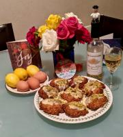 Christmas Oat Cookies - Evening and Wine Tasting