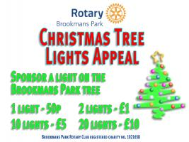 Christmas Tree Lights Appeal