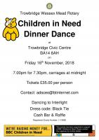 Children in Need Dinner Dance