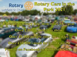 Rotary Cars in the Park