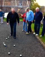 Club only  Boules Practice