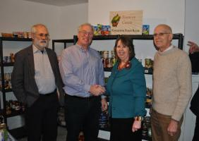 We support Knighton Food Bank with Ludlow RC