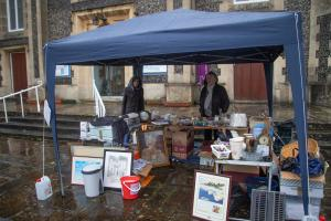 Our Gazebo with the tabletop sale