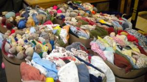Sandra's Baby Clothes Project Closes