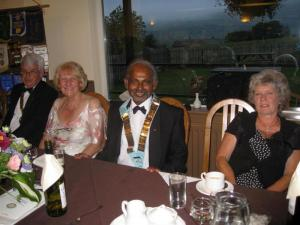 Charter and Handover Dinner 2009