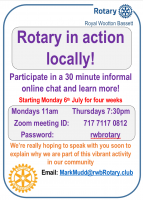 Learn about Rotary in RWB