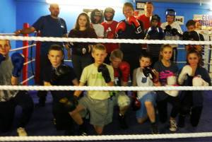 Boxing Club Visit