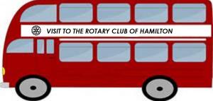 Visit to the Rotary Club of Hamilton