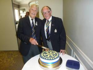 Rotarian Colin Coombs 70th Birthday