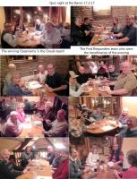 Fun charity quiz night with supper at the Baron