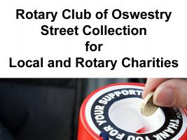 Street Collection for Rotary Charities - 22nd and 23rd June 2012