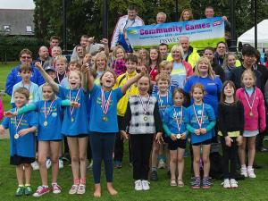 Oswestry Community Games, Cae Glas Park, September 2015