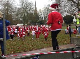Marlow Santa Fun Run