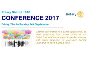 District 1070 Annual Conference