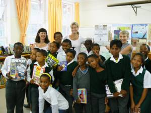 School Books Project  - South Africa - Constantia Primary School Distribution