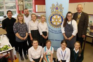Young Chef at Truro High School