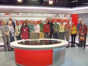 Group visit to BBC at Forum