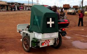 eRanger Motorcycle Ambulances for Mbale