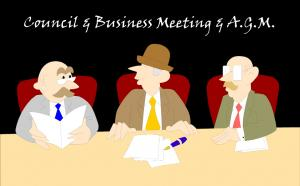AGM + Council & Business Meetings