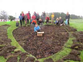 A Brighter Brora Thanks To Polio Crocus Planting