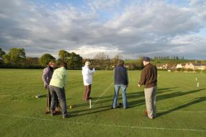 Golf Croquet - 1 May 2014
