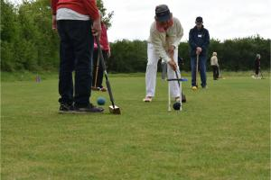 Croquet match with Eynsham Rotary 21 August