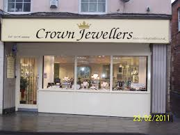 Visit to Crown Jewellers, North Street, Bourne at 7:00pm