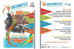 Mary Hignett Bequest Fund Supports Oswestry's First CultureFest Event