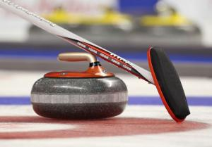 Knock-out Trophy - Rotary Curling League