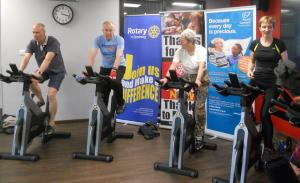 Godalming Cyclathon at Snap Fitness