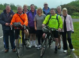 Mark Evans raises £2,000 on charity bike ride