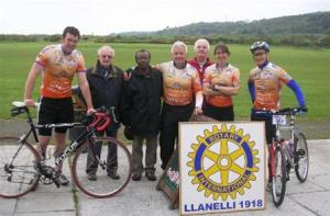 HARK charity bike ride