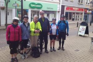 Pedalling for Charity