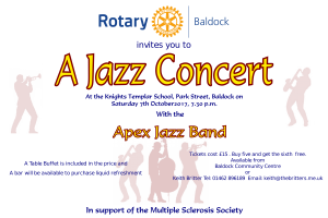 Jazz Concert in aid of the Multiple Sclerosis Society