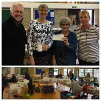 £530 Christmas Gift to the North Oxfordshire Community Foodbank.