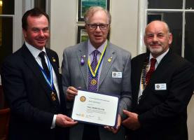 Speaker - District Governor Elect Robert Morphet