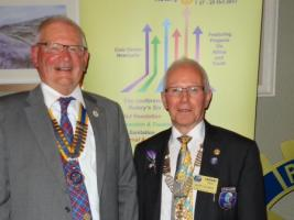 Visit of District Governor Lindsay Craig