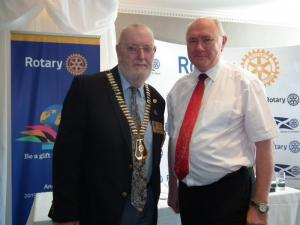 Our new District Governor