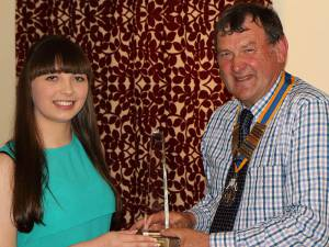 Rotary Frome Young Citizen Award 2014