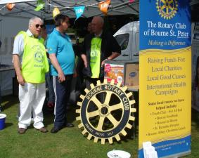 Bourne Classic Car and Bike Show Sunday 21st June 2015