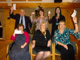 CHARITY CHEQUE PRESENTATION EVENING