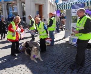 Canine Partners Sat 6th Oct 2012 - Romford Market
